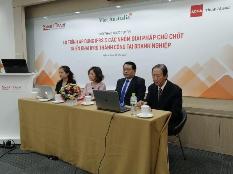 """Hội thảo """"Lộ trình áp dụng IFRS & các nhóm giải pháp chủ chốt triển khai IFRS thành công tại DN"""" - ảnh 2"""